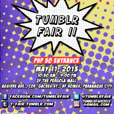 Tumblr Fair 2 VIP Tickets Giveaway!