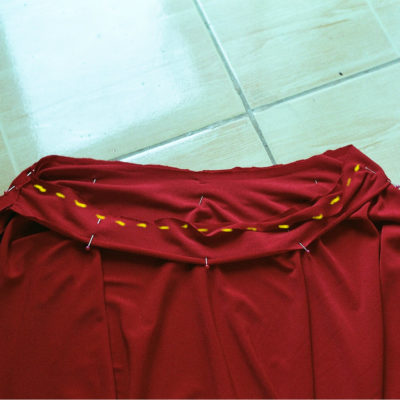 DIY Circle Skirt (Skater Skirt)