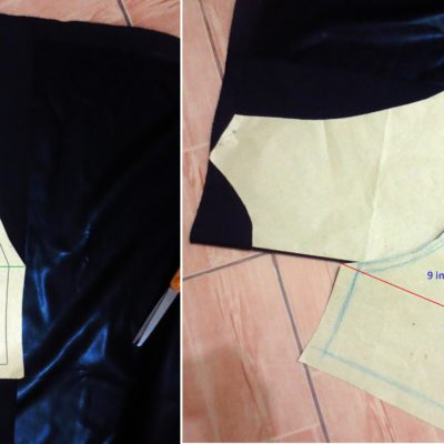 DIY Faux Leather Racerback Crop Top