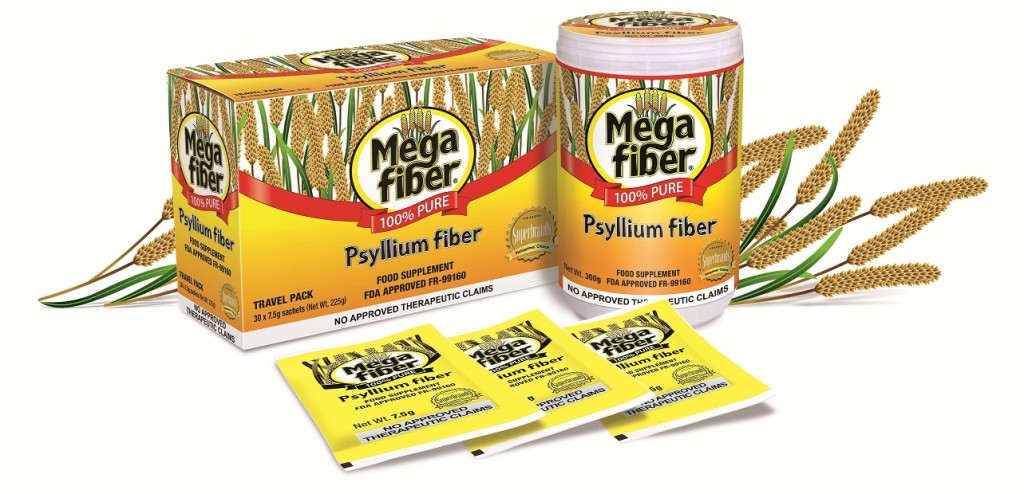 MEGAFIBER is available in jars and sachets at Mercury Drug stores nationwide