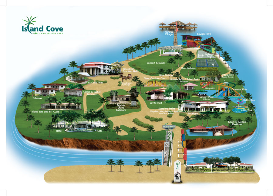Island Cove Map