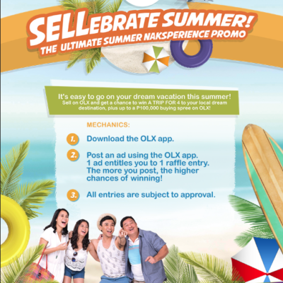 Earn & Travel with OLX Summer #Naksperience Promo