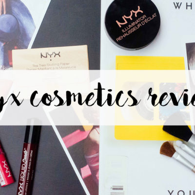 Shades of Red: NYX Cosmetics Review